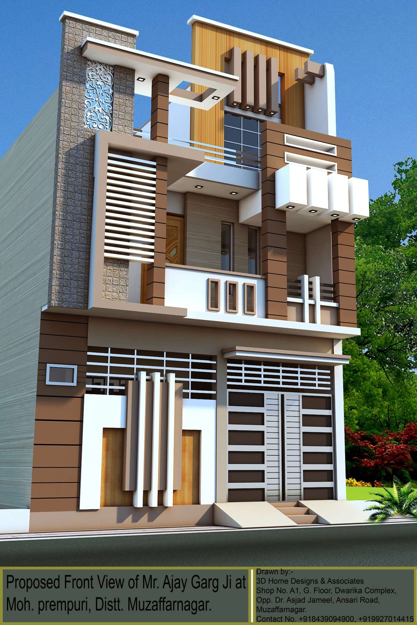 3d home designs and associates muzaffar nagar city muzaffarnagar estate agents 7ewviww