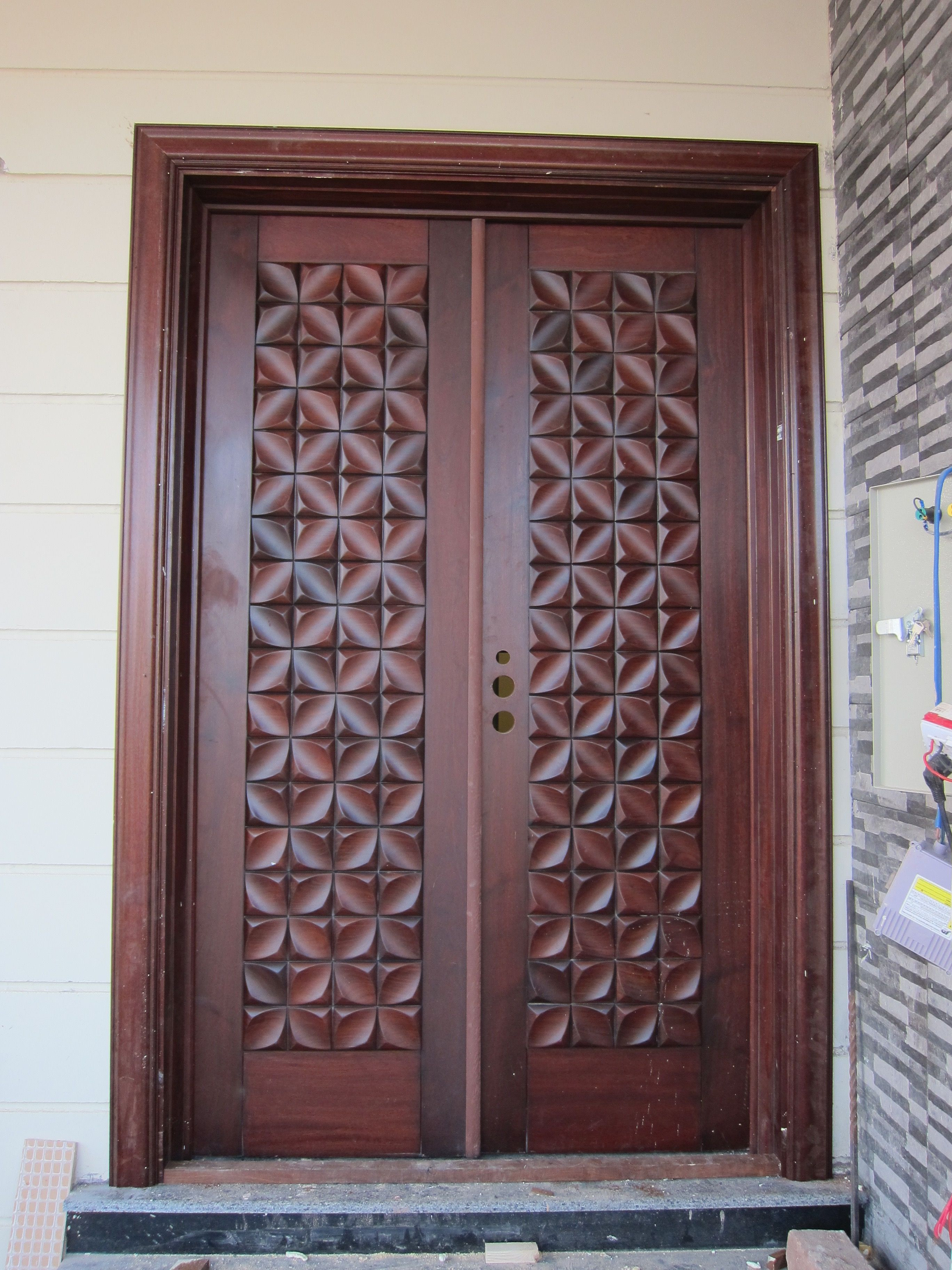 Home Main Gate Design Ideas Awesome now that is One Delicious Chocolate Door