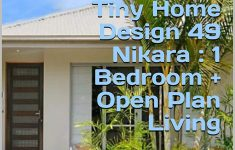 Home Plans And Cost New Tiny Home Design 49 Nikara 1 Bedroom Open Plan Living
