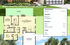 Home Plans With Vaulted Ceilings Fresh Plan Am Modern House Plan With Vaulted Ceilings And