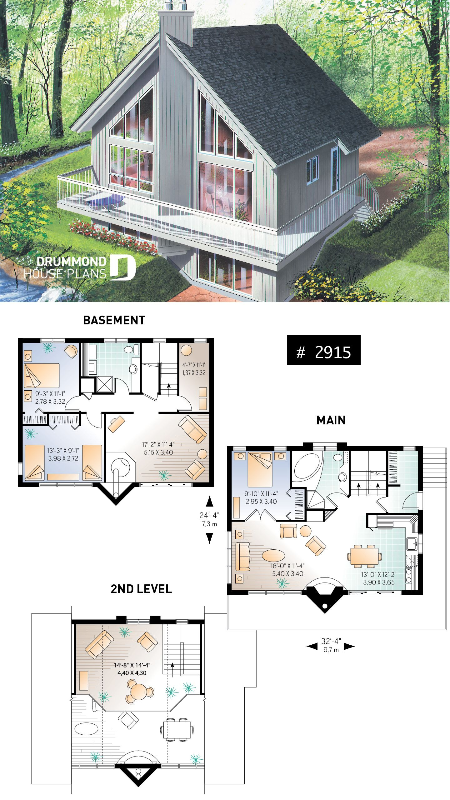 Home Plans with Vaulted Ceilings Inspirational House Plan Skybridge 3 No 2915