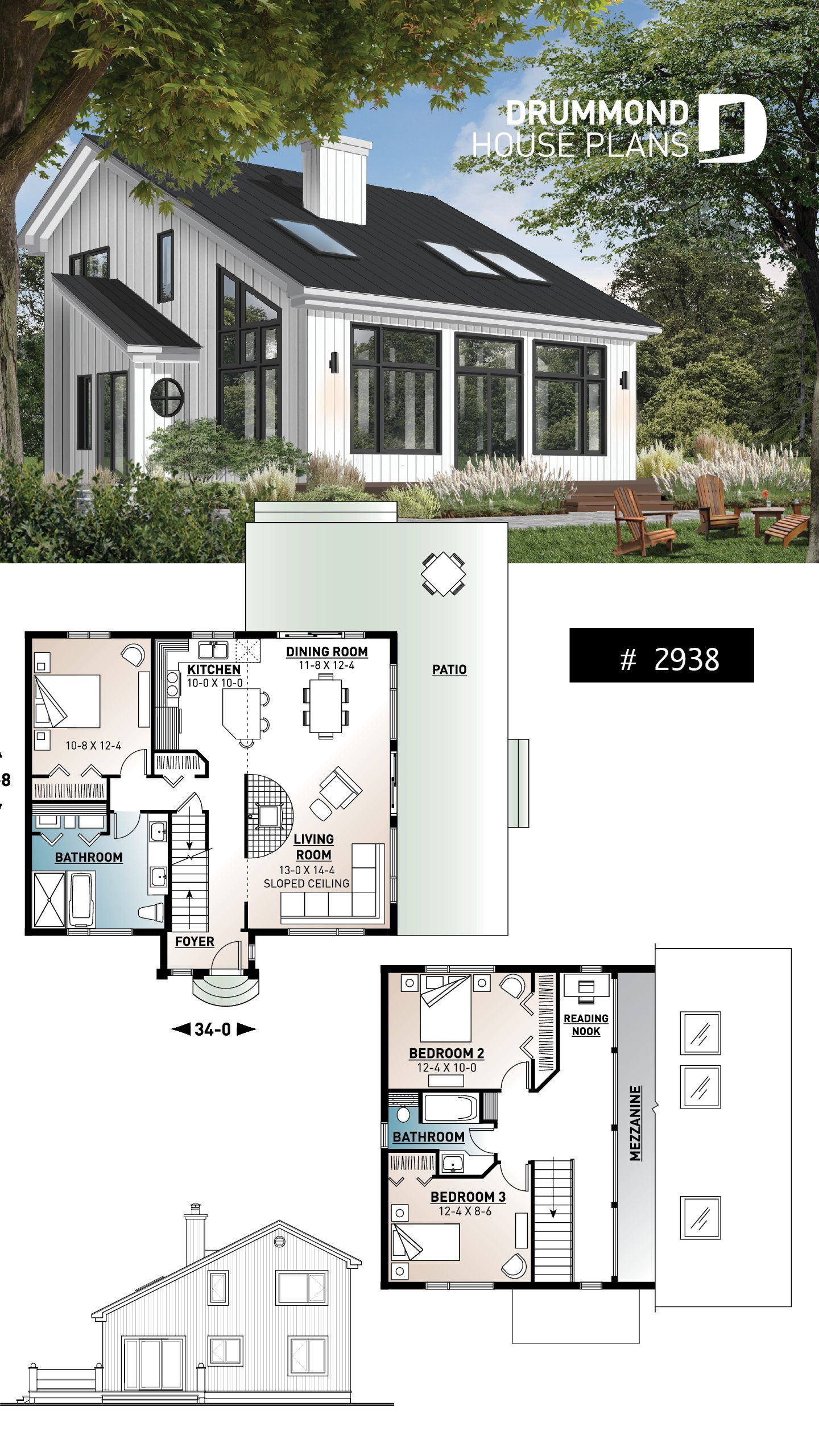 House Design Plans for Small Lots Lovely House Plan ataglance No 2938