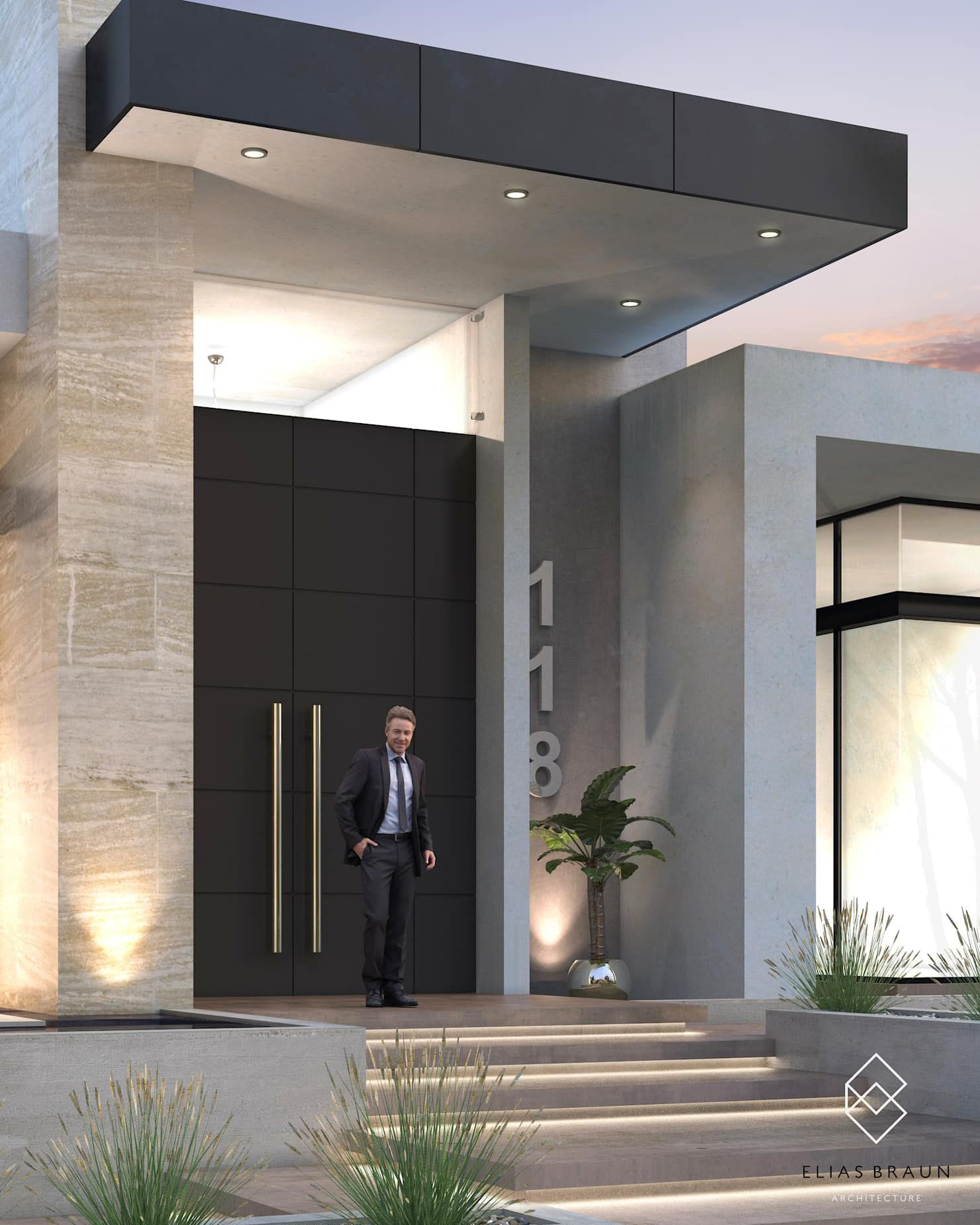 House Entrance Design Ideas Best Of Modern Houses by Elias Braun Architecture Modern In 2020