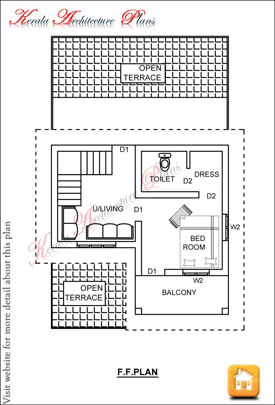 House Plans Below 800 Sq Ft Elegant Kerala House Plans 1200 Sq Ft for A 3 Bedroom House18 Lakhs