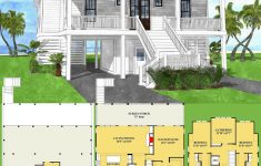 House Plans Coastal Living Lovely Plan Nc Coastal House Plan With Upper Level Bunk Room