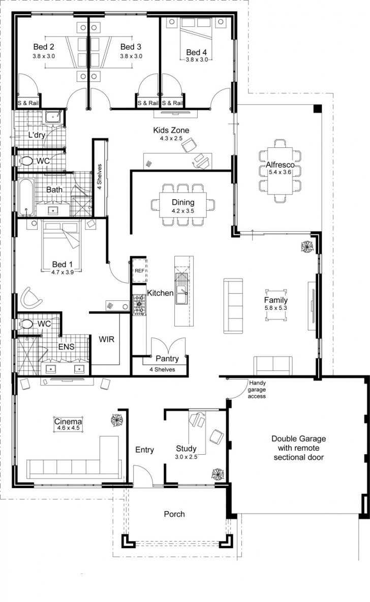 House Plans for Ranch Style Homes 2020
