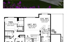 House Plans Ranch Style With Basement Beautiful Ranch Style House Plan With 3 Bed 2 Bath 3 Car