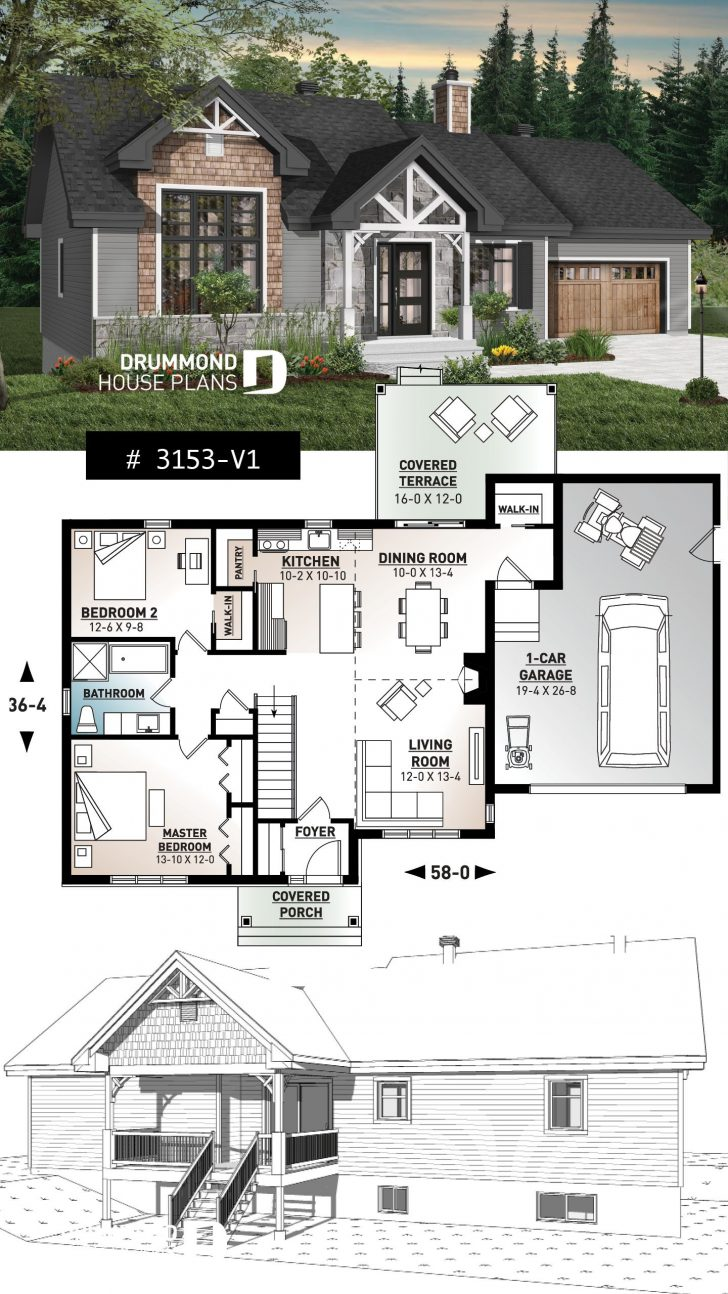 House Plans Ranch Style with Basement 2021