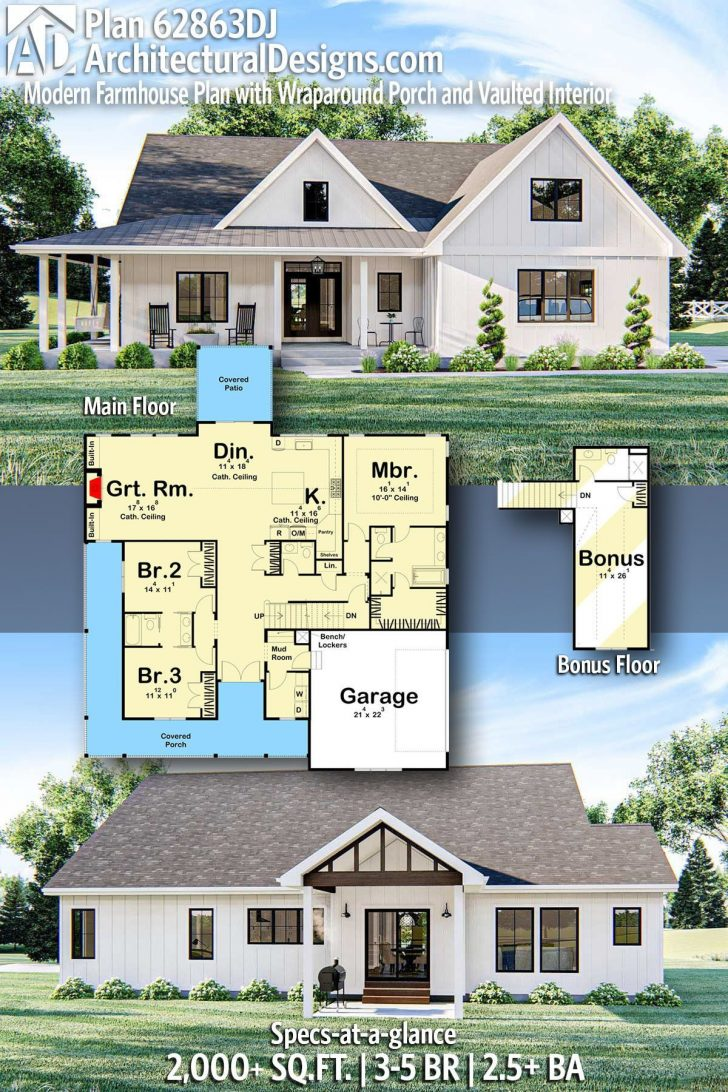 House Plans with Basements and Wrap Around Porch 2020