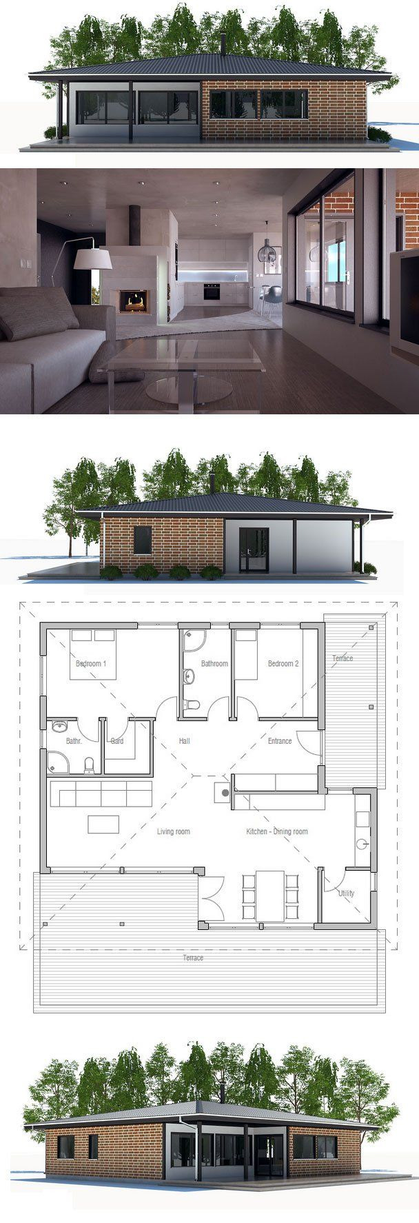 House Plans with Big Windows 2021