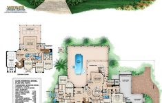 House Plans With Elevators Waterfront New Mediterranean House Plan Mediterranean Tuscan Mansion Floor
