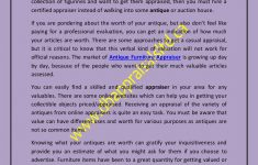 How To Appraise Antique Furniture Fresh Appraisal Of Antique Furniture