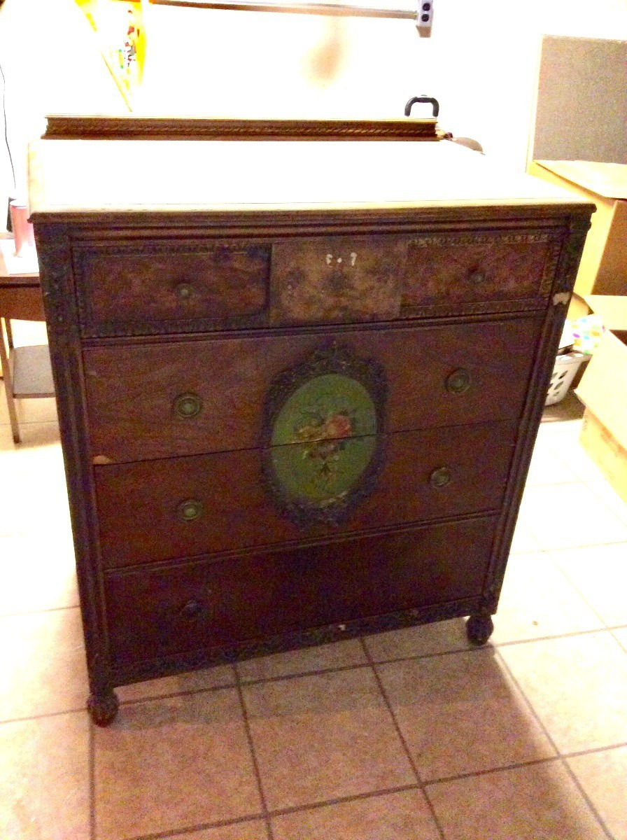 value of an old dresser 3 x9