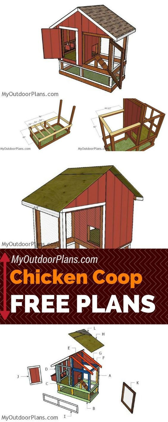 How to Build A Chicken House Free Plans Elegant Pin by Richard Swiney On Chicken Coop Ideas