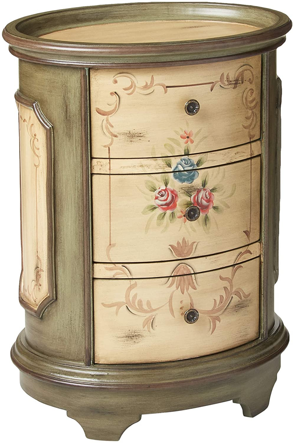I Want to Sell Antique Furniture Awesome Stein World Furniture Dover Accent Table Antique Green Brown