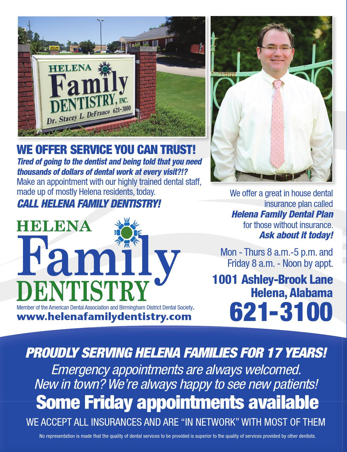 In House Dental Plans Unique Helena City News by Dave Smith issuu