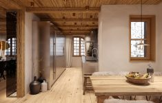 "Interior Design Chalet Style New Chalet ""chesa Nimet"" In St Moritz"