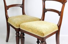 International Furniture Direct Antique Collection New Pair Antique Victorian Mahogany Chairs