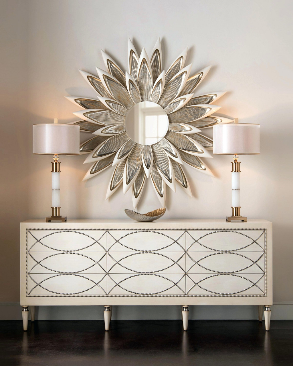 new decorative wall mirror perfect for living room jeffsbakery chic