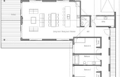 L Shaped House Plans Modern Unique House Design House Plan Ch331 15