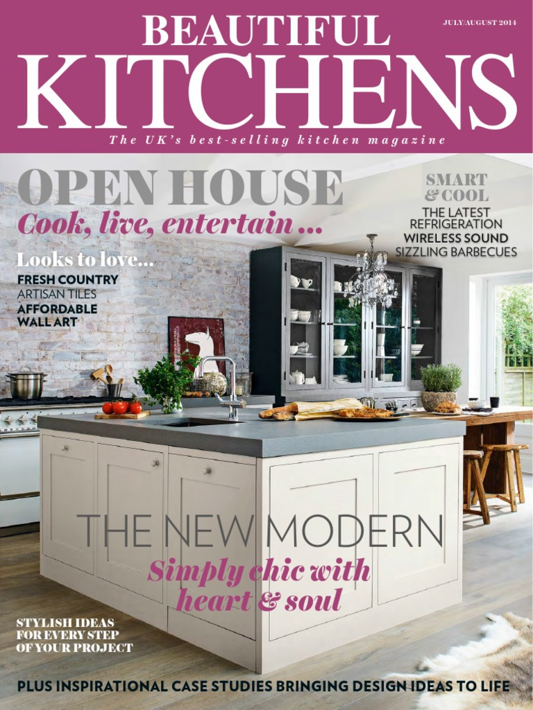 Beautiful Kitchens Magazine JulyAugust 2014 pdf