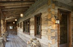 Log Cabin House Plans With Wrap Around Porches Awesome Wrap Around Porch And Dovetail Log Corners