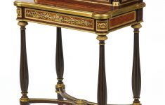 Louis Xvi Antique Furniture Elegant C1879 Henry Dasson 1825 1896 A Louis Xvi Style Gilt Bronze