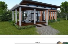 Low Cost House Design New Low Cost Modern Two Bedroom House Design With L Shape