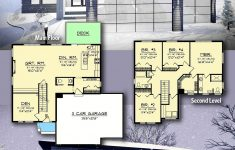Modern 2 Story Home Plans Awesome Plan Ah Modern 2 Story House Plan With Upstairs