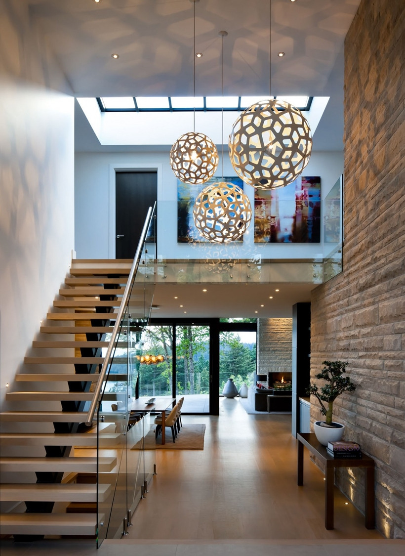 Elegant Modern House in West Vancouver Canada on world of architecture 03