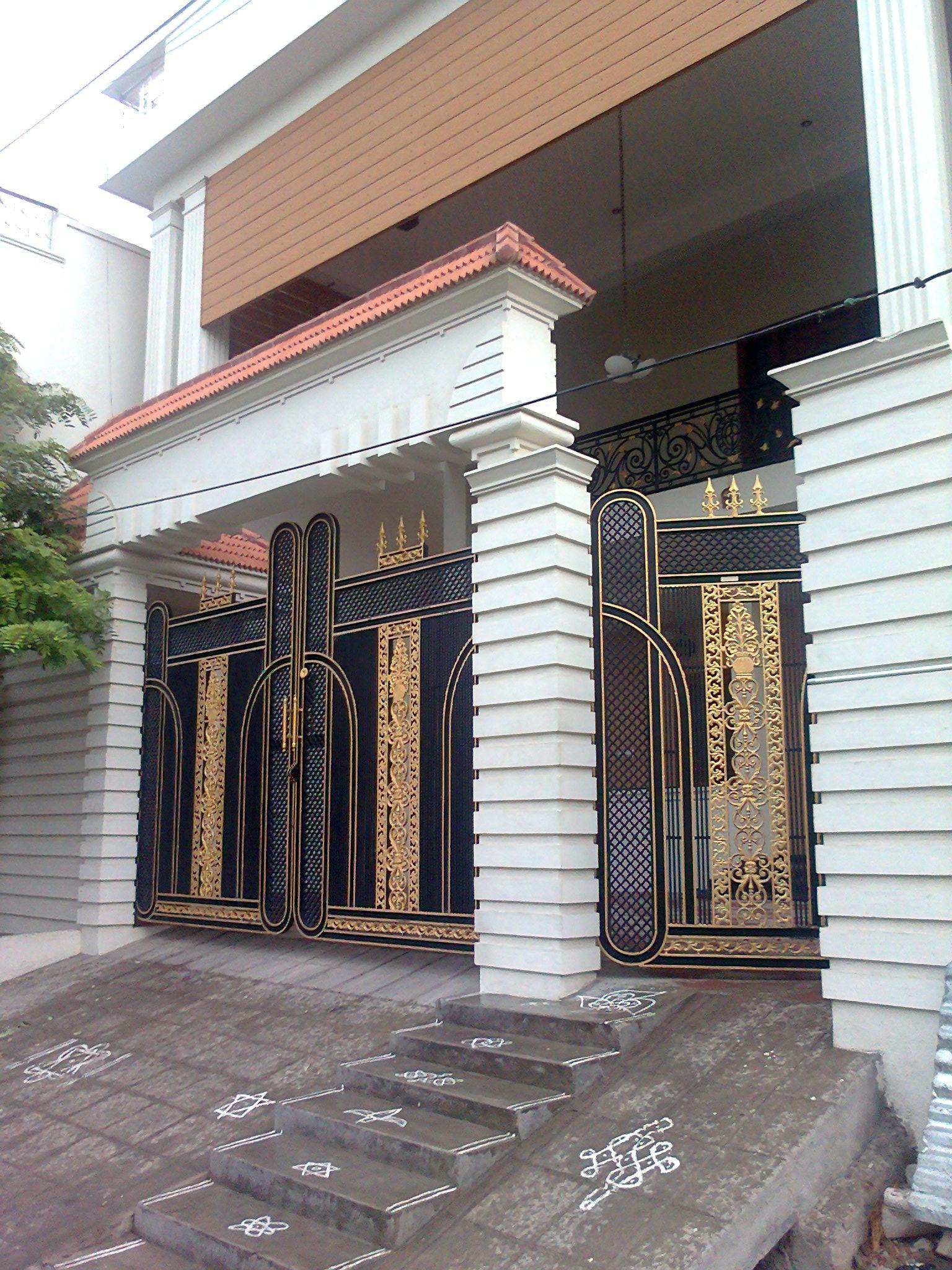 contemporary home gate design new latest modern main entrance photo picture 2016