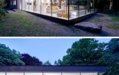 Modern Glass Houses Architecture Unique This House Has E End Surrounded By Glass Three Sides