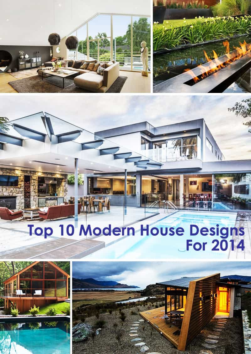 top 10 modern house designs 2014