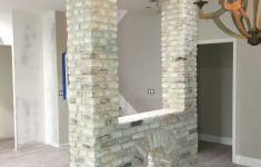 Modern Partition Wall Ideas Home Luxury A Whitewashed Brick Partition Wall In A Home Mortonstones