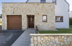 Modern Stone Houses Architecture Elegant Modern House Exterior With Natural Stone Elevation