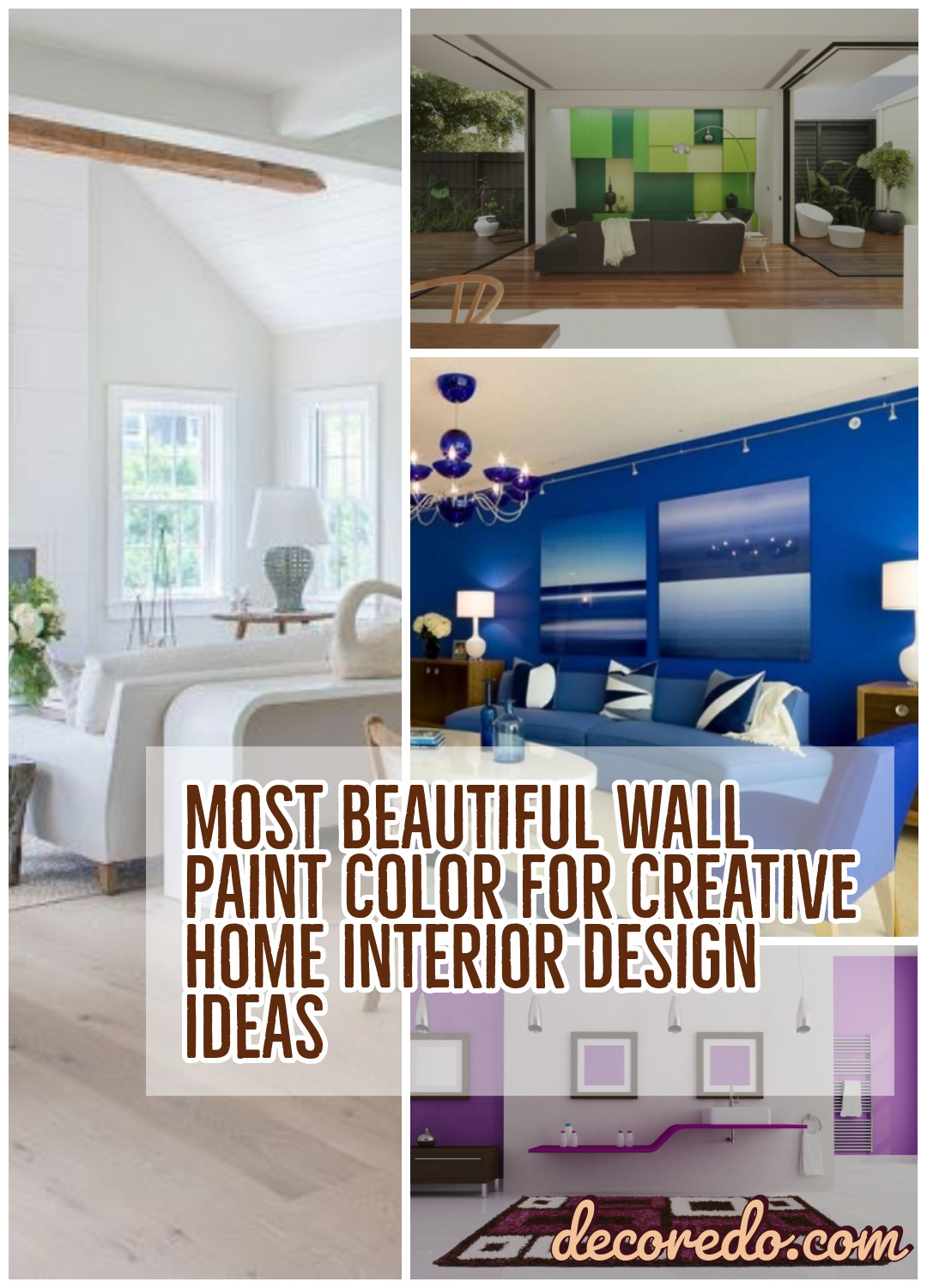 Most Beautiful Wall Paint Color For Creative Home Interior Design Ideas
