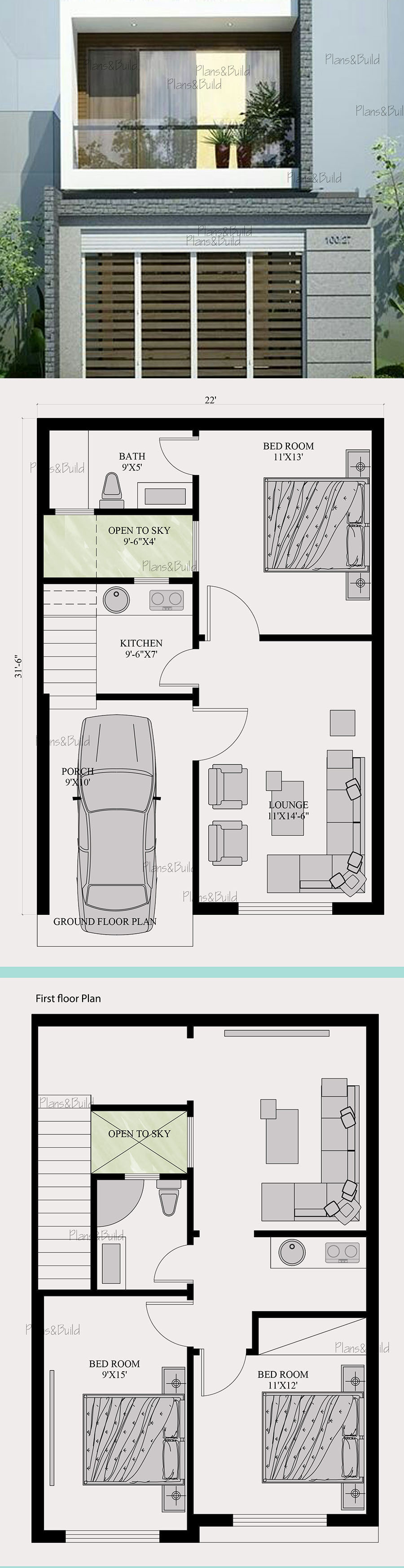 Narrow Depth House Plans Fresh Plans and Build