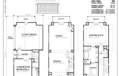 Narrow Depth House Plans Lovely Three Story Townhouse Plan D5214 2524