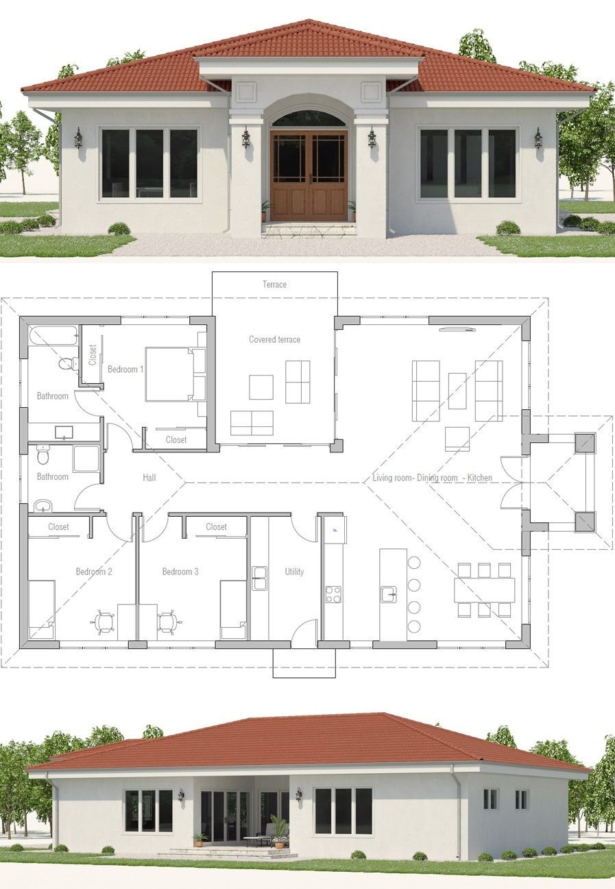 New Home House Plans Inspirational Small House Plans Home Plans New Homes Floor Plans