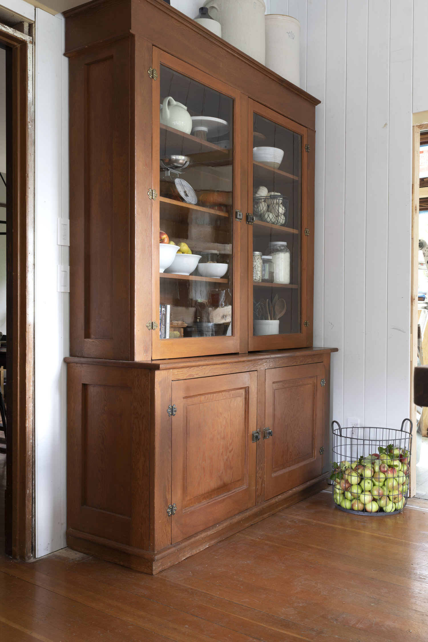 The Grit and Polish Farmhouse Kitchen Hutch 4