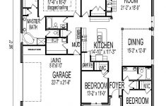 One Story One Bedroom House Plans Beautiful 1 Story 4 Bedroom House Plans With Images