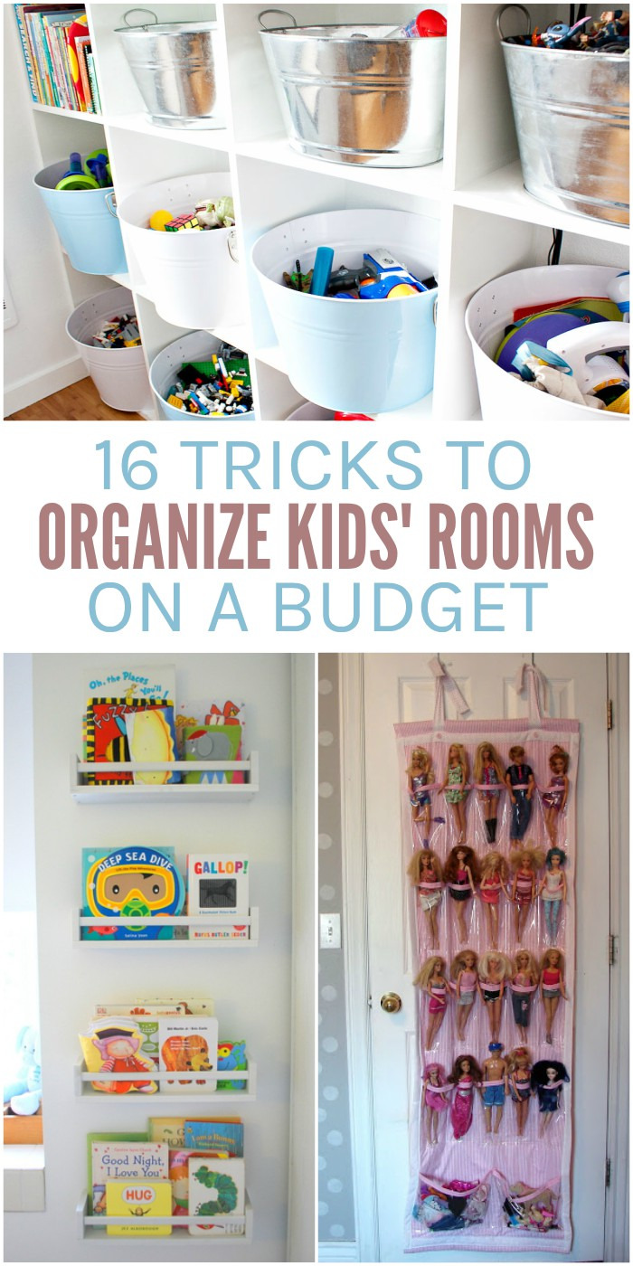 16 Tricks to Organize Your Kids Rooms on a Bud