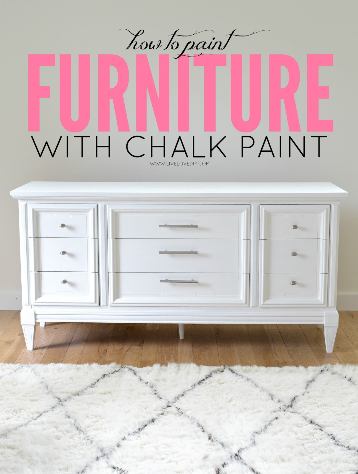 HOW TO PAINT FURNITURE WITH CHALK PAINT JPG