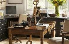 Pottery Barn House Plans Unique Pottery Barn Home Office Farmhouse Table As Desk And Wall