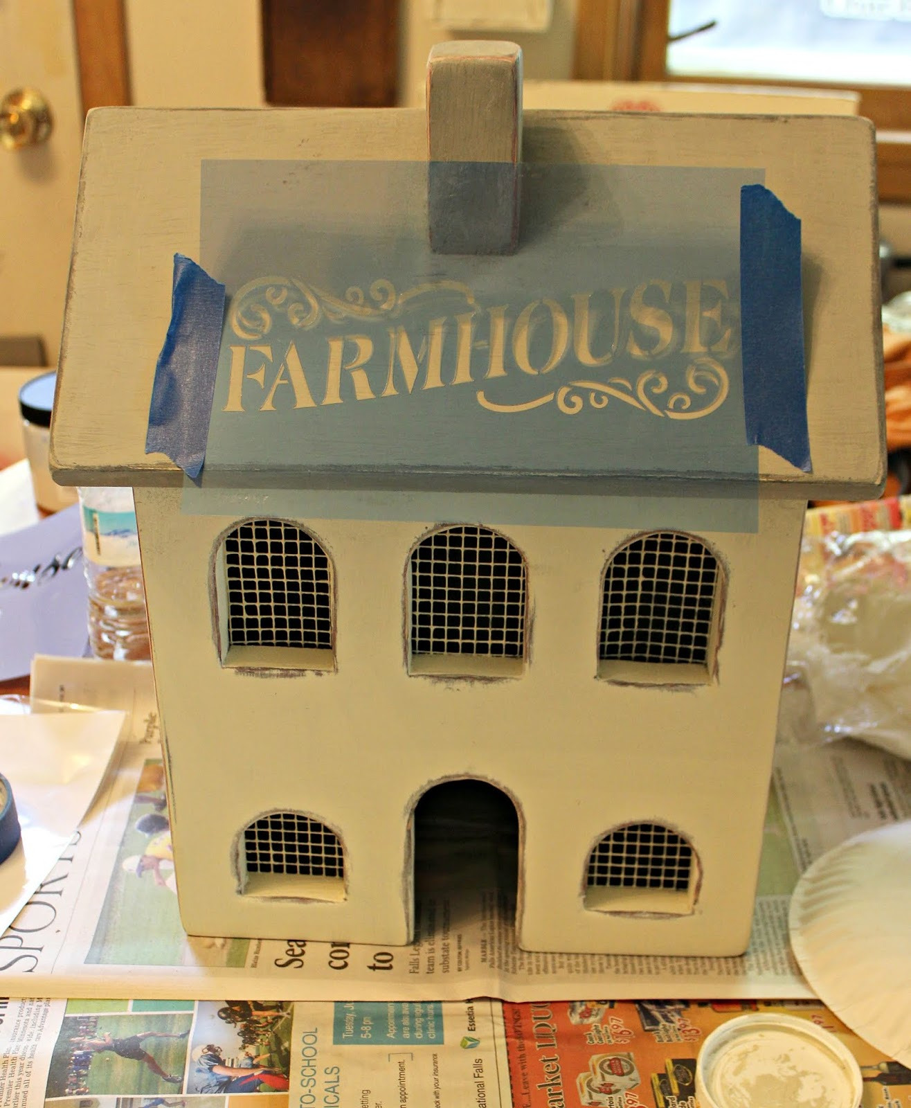Primitive Saltbox House Pictures Best Of Garage Sale Primitive Salt Box House Gets A Farmhouse
