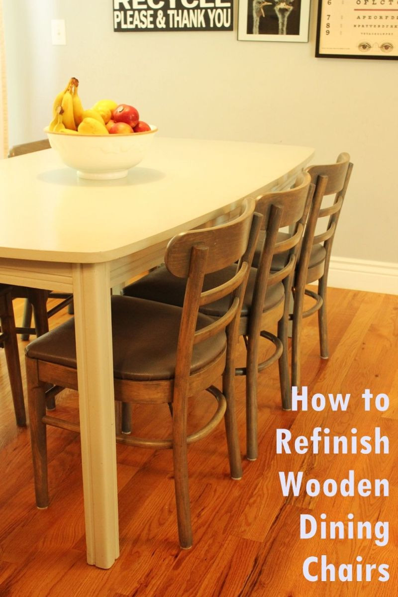 Restore Antique Furniture without Refinishing Beautiful How to Refinish Wooden Dining Chairs A Step by Step Guide