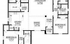 Side Split Level House Plans Fresh Four Bedroom Triple Split House Plan House Plans