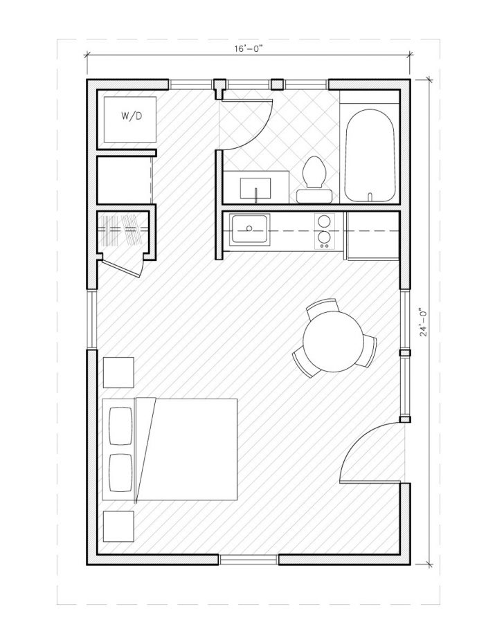Simple 1 Bedroom House Plans 2021