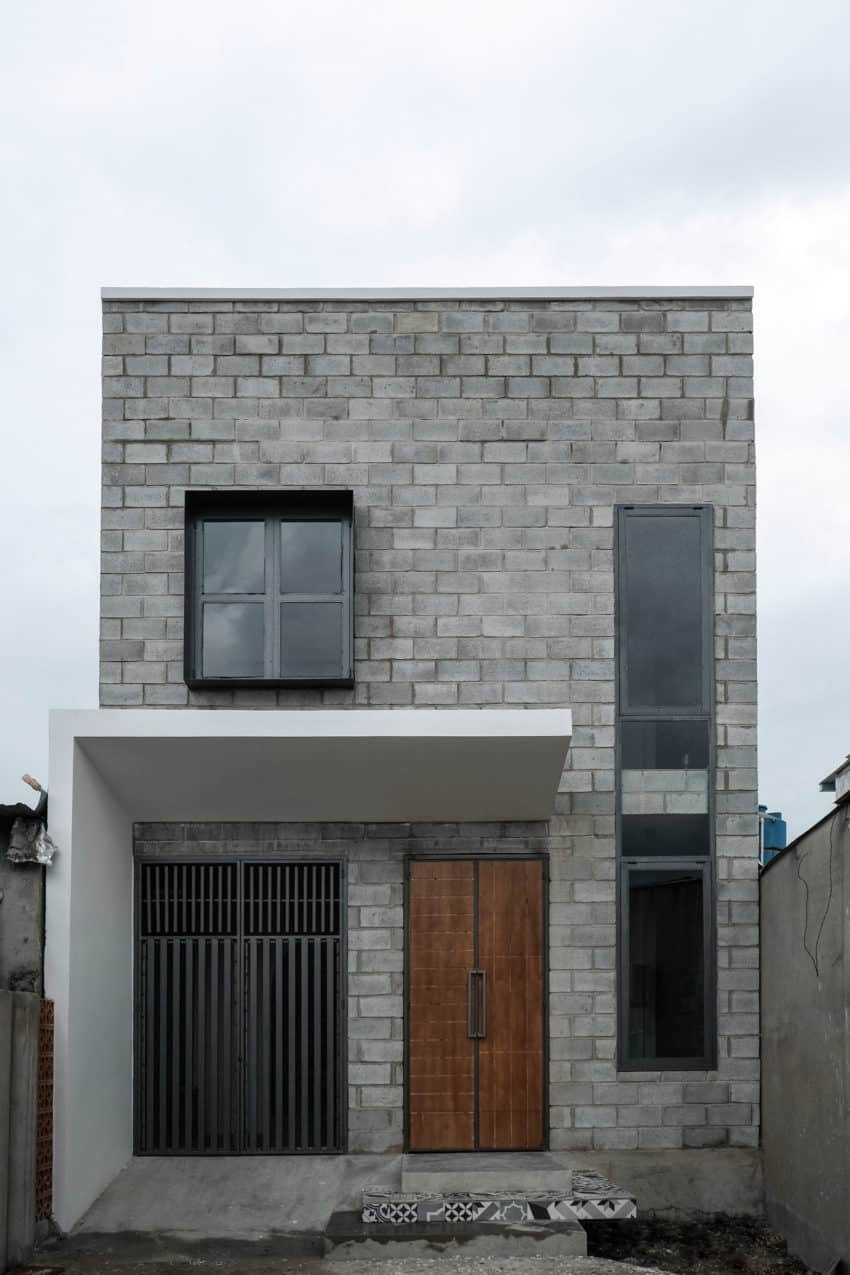 Simple Model House Design Lovely Simple House Designed for A Small Family Of Four In Binh