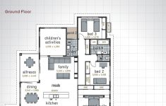 Single Story 4 Bedroom Modern House Plans Awesome Orlando 30